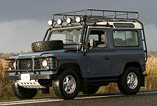 Land Rover Series y Defender cortos